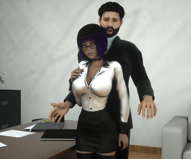 sexo con la secretaria