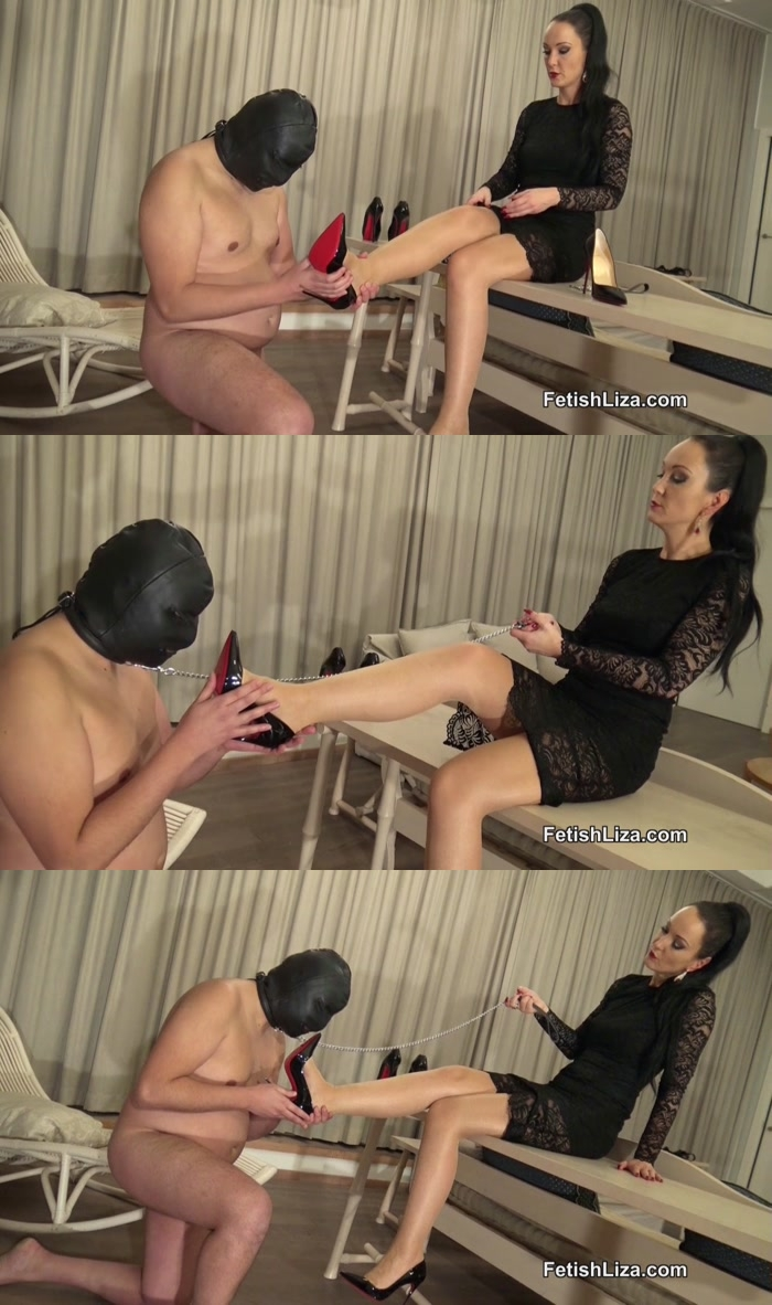 Fetish Liza - SO KATE SHOE LICKER [HD 720] FetishLiza
