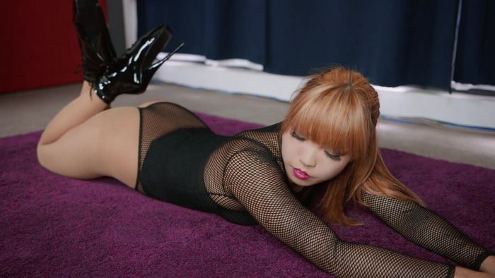 Mina - Hogtied Fishnet Object [FullHD 1080p]