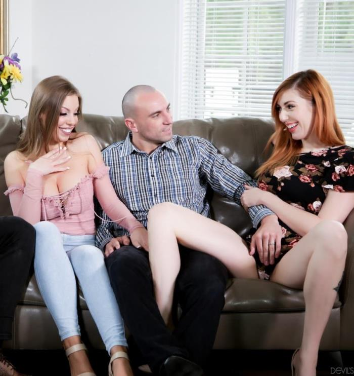 Britney Amber, Lauren Phillips ~ Neighborhood Swingers 22, Scene 1 ~ DevilsFilm ~ HD 720p