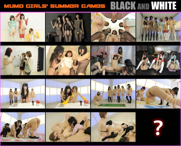 G-Queen - Japanese Girls - Black and White [HD 720p]