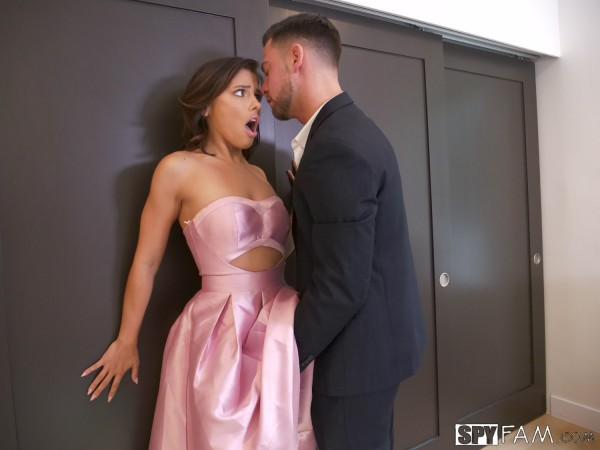 Adriana Chechik ~ New Years Resolution: Blackmail Stepsister ~ Spyfam.com ~ SD 480p