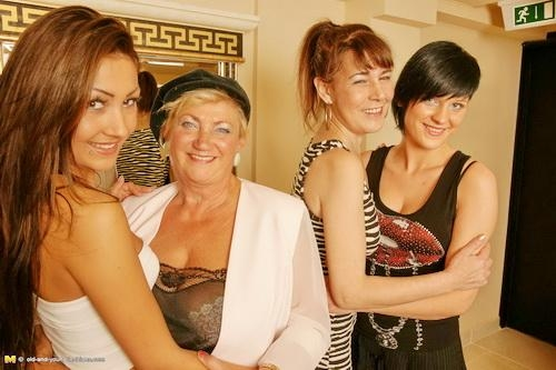 Mature - Magdalena K., Petra K., Lolita, Ashly - Old-and-Young-Lesbians [HD 720p]