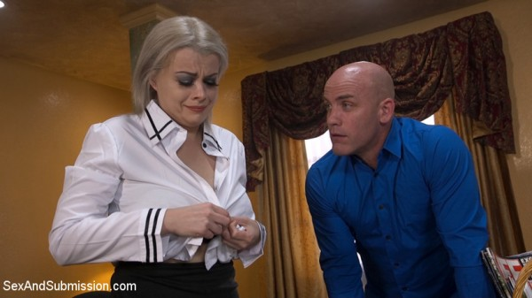 Nadia White - Bad Secretary: Newcomer Nadia White Gets Punished! [SD 540p] - SexAndSubmission.com/Kink.com