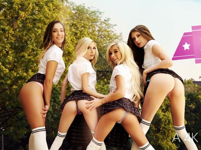 VRbangers: Elena Koshka, Jaye Summers, Kenzie Reeves, Piper Perri - Sorority HookUP Part 2 [HD 960p] (2.37 Gb)