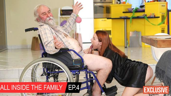 Charli Red - All inside the family Ep.4 Granddad having the time of his life (ClubSeventeen/FullHD/1080p/3.49 Gb) from Rapidgator