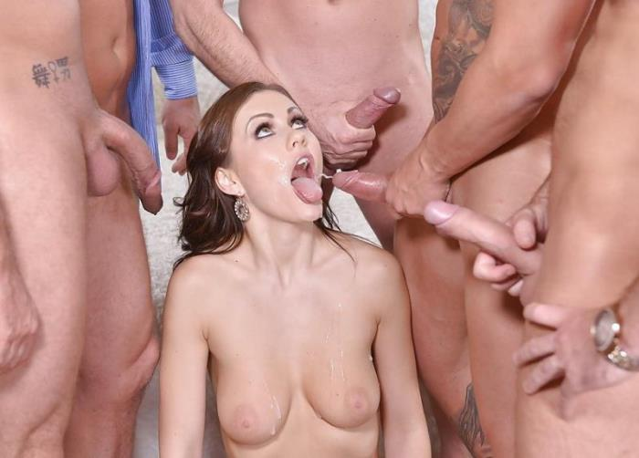 HandsOnHardcore - Tina Kay [Gangbang Turnaround: This Is What Really Happens On A Porn Set!] (SD 360p)