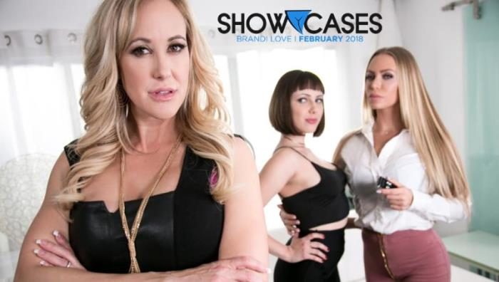 GirlsWay: Brandi Love, Jenna Sativa, Nicole Aniston - Showcases: Brandi Love - 2 Scenes In 1 [FullHD 1080p] (Lesbians)