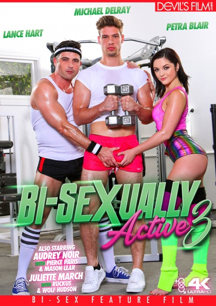 Audrey Noir, Juliette March, Lance Hart, Mason Lear, Michael Del Ray, Petra Blair, Pierce Paris, Ruckus, Wolf Hudson - Bi-Sexually Active 3 (WEB-DL) - Devils Film [WEB-DL 544p]