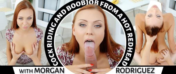 Morgan Rodriguez - Cock Riding and Boobjob From a Hot Redhead (2019/UltraHD 2K)
