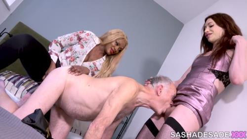 Sasha de Sade, friends - Sasha de Sade & Ava Black - Visiting A Married Couple [FullHD, 1080p] [SashaDeSade.XXX]