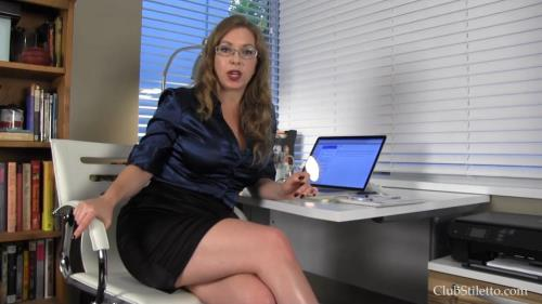 You are MY Personal Office Toilet [FullHD, 1080p] [ClubStiletto.com]
