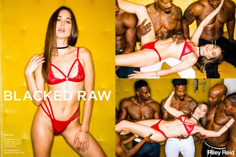 Riley Reid - Girlfriend Gangbang At The After Party [BlackedRaw] 2019