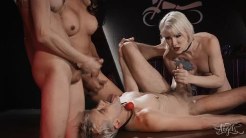 Lena Kelly, Jessica Fox, Casey Kisses, Sherman Maus - The TransAngels Motorcycle Club Part 3 (30.07.2019/TransAngels.com/Transsexual/FullHD/1080p)