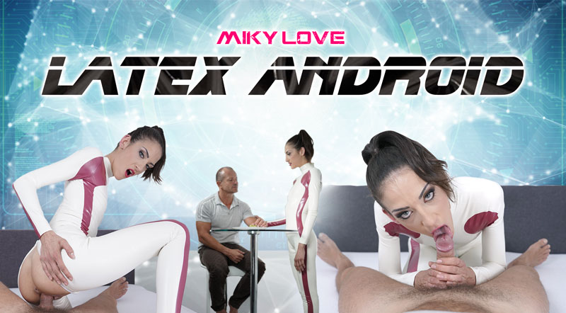 Miky Love: Latex Android (UltraHD 2K / 1920p / 2019) [RealityLovers]