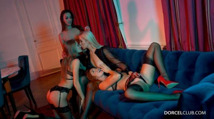 DorcelClub - Amirah Adara, Red Fox, Tiffany Tatum and Angelika Grays - Lesbian Orgy [2K UHD 2160p]