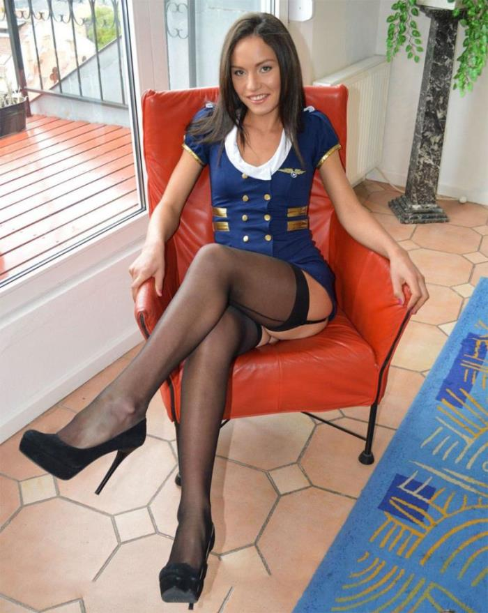 JimSlip - Nataly Gold - Seamed Stockings And Heels! [SD 540p]