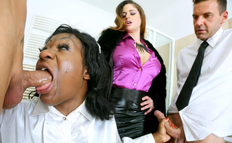 Josy Black and Cathy Heaven - MAD BUTLER AND CFNM CHEF BATTLE BIG TIT BITCHES WITH DP AND A2M (2019/FullHD)