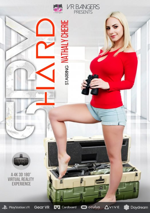 Nathaly Cherie - Spy Hard [VRBangers] [2K UHD|mp4|4.25 Gb|1920p]