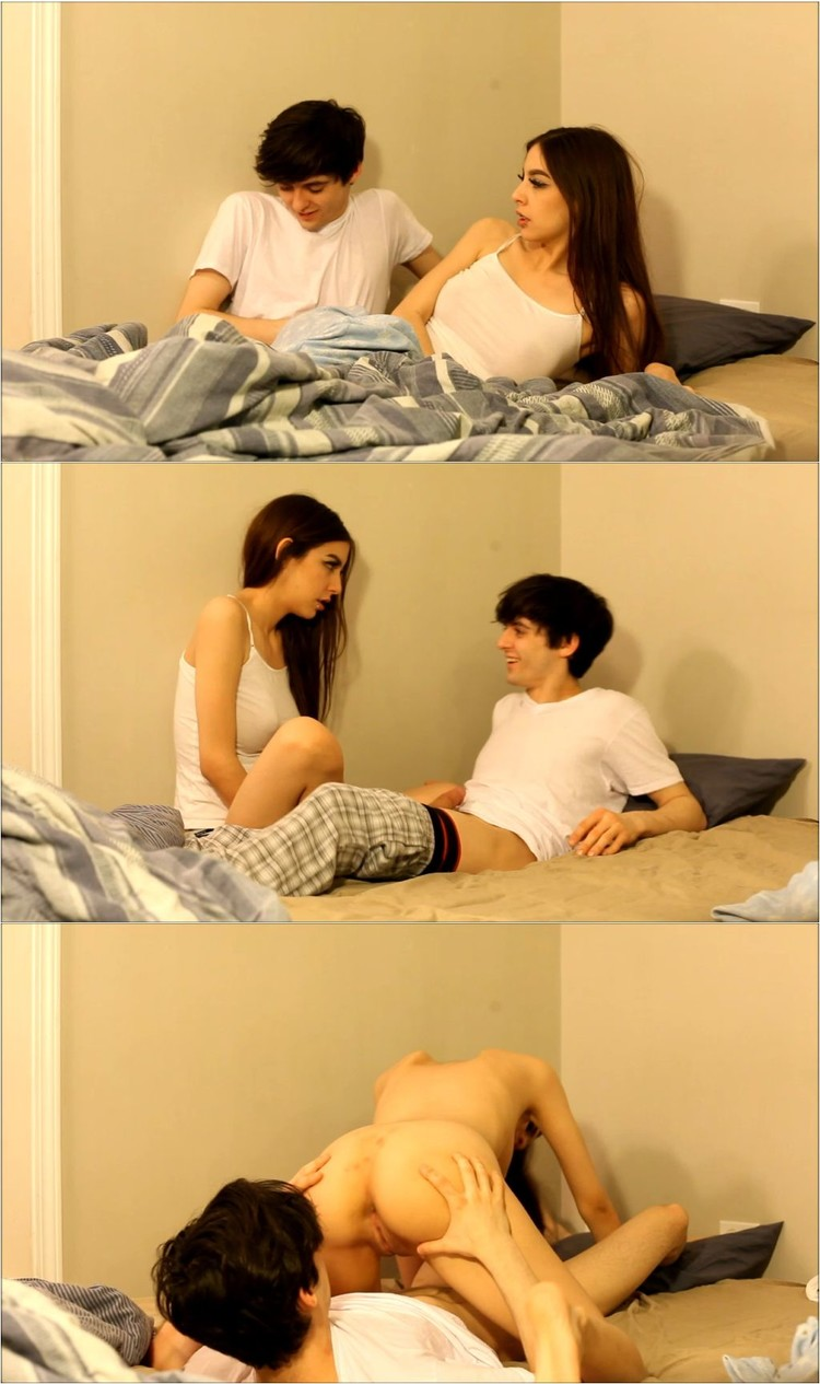 Hot sister seduce brother for sex