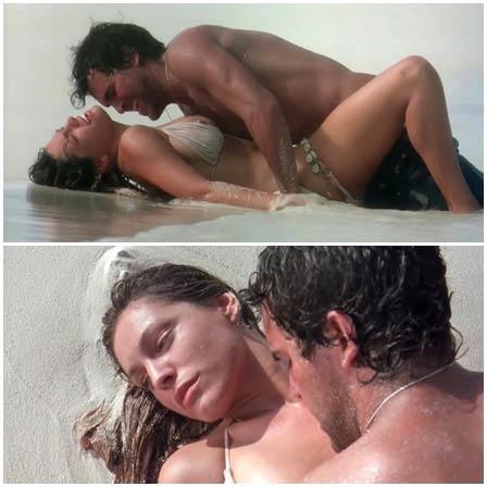 Kelly Brook Three Three Beautiful Celebrity Sexy Nude Scene