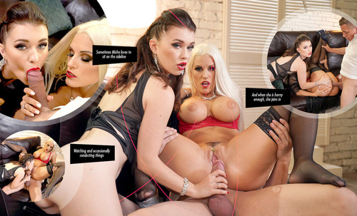 Starring: Dido Angel ,Blanche Bradburry ,Alexis Crystal ,Misha Cross