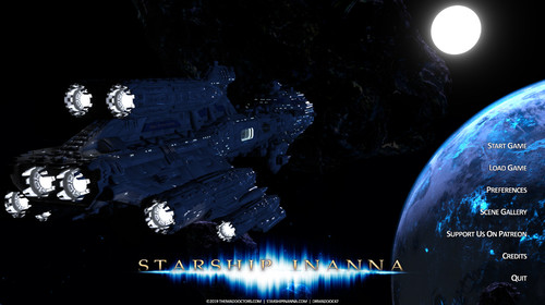 The Mad Doctors are creating the Adult SciFi Starship Inanna