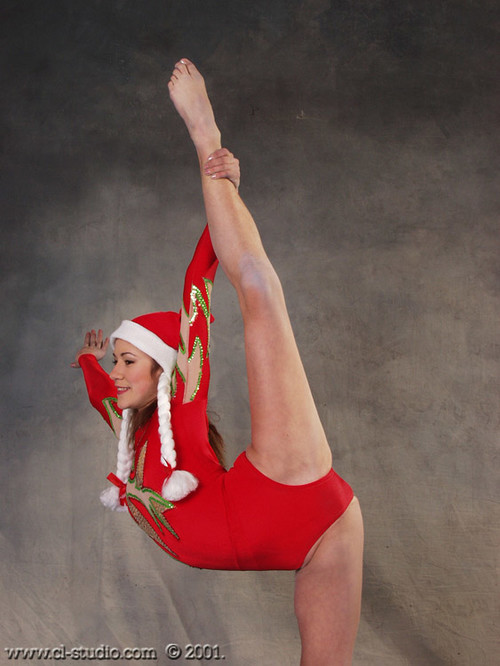 Topless gymnast photo download
