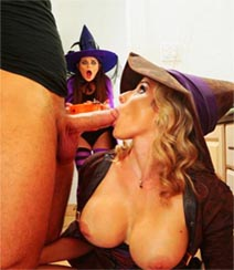 Anastasia Rose And Cory Chase-Halloweeny