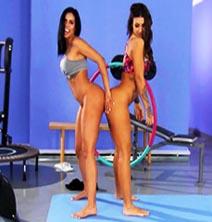 Canela Skin & Susy Gala-Culos En Forma Con Susy Y Canela