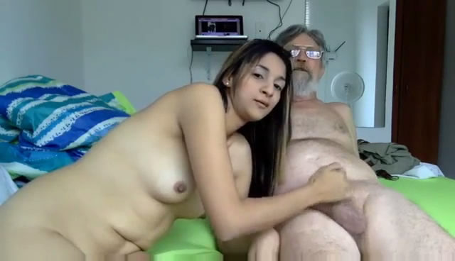 webcam girl grandpa