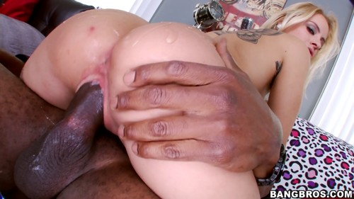 Small White Girl Gets Her Pussy Fucked By  Inches Of Black Dick