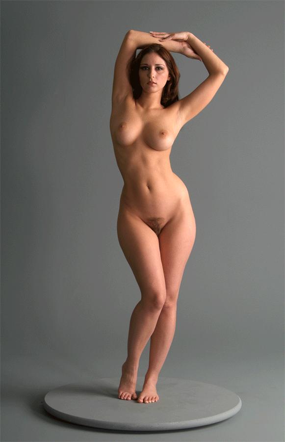 Katrin porto voluptuous nude model