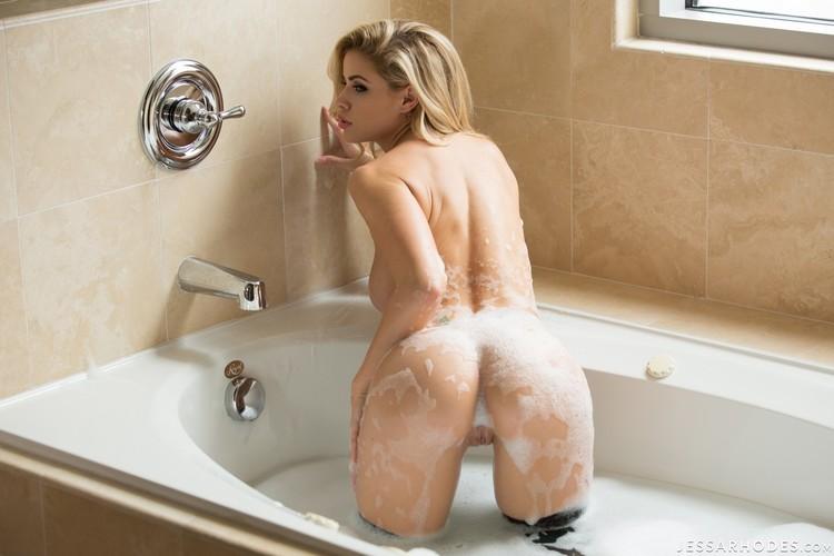 Jessa Rhodes fotos impresionantes en la ducha