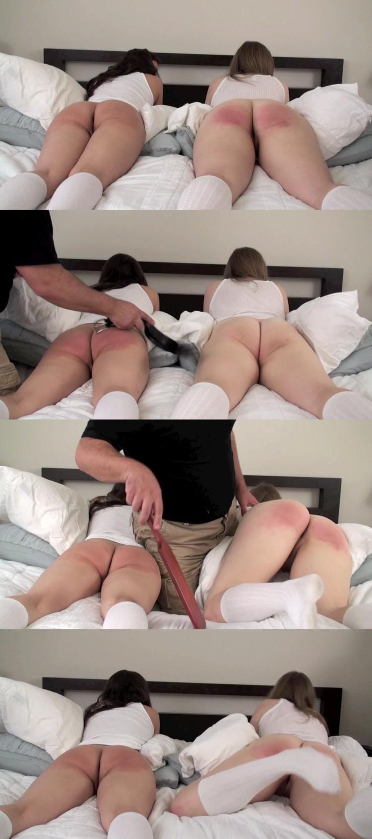 Lesbian Ass Spanking