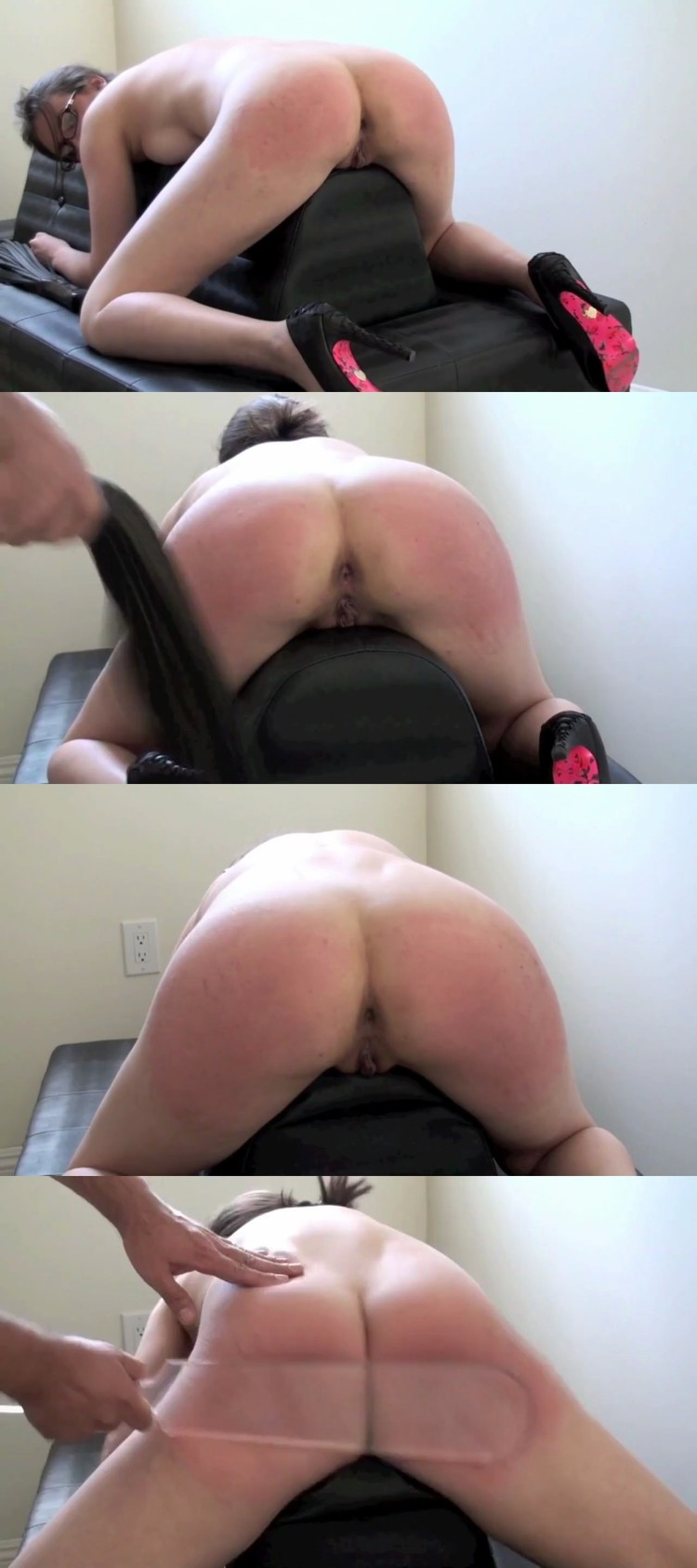 Hard Spanking And Punishment For Ebony Girl