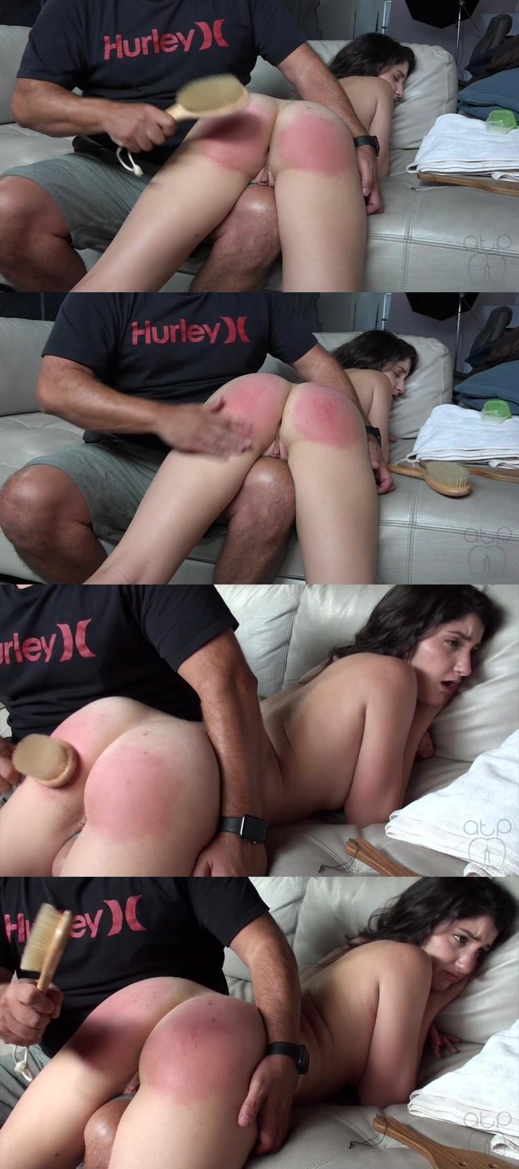 Arielle lane spanked like a bad girl