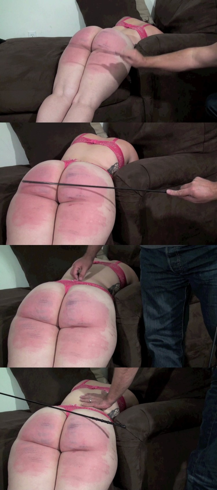 Spanking and wedgie