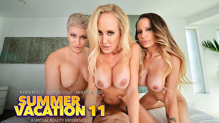 Naughtyamericavr presents Summer Vacation 11 – Brandi Love, McKenzie Lee, Ryan Keely