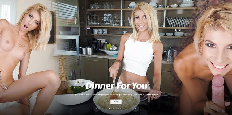 Sexbabesvr presents Dinner For You – Missy Luv 5K