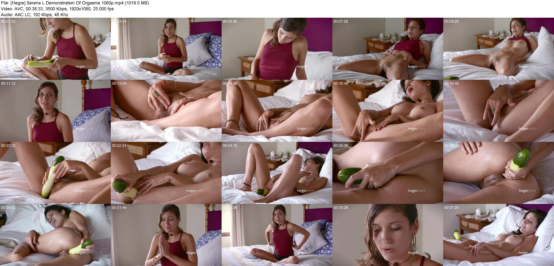 Orgasms serena demonstration of Beginner's Guide