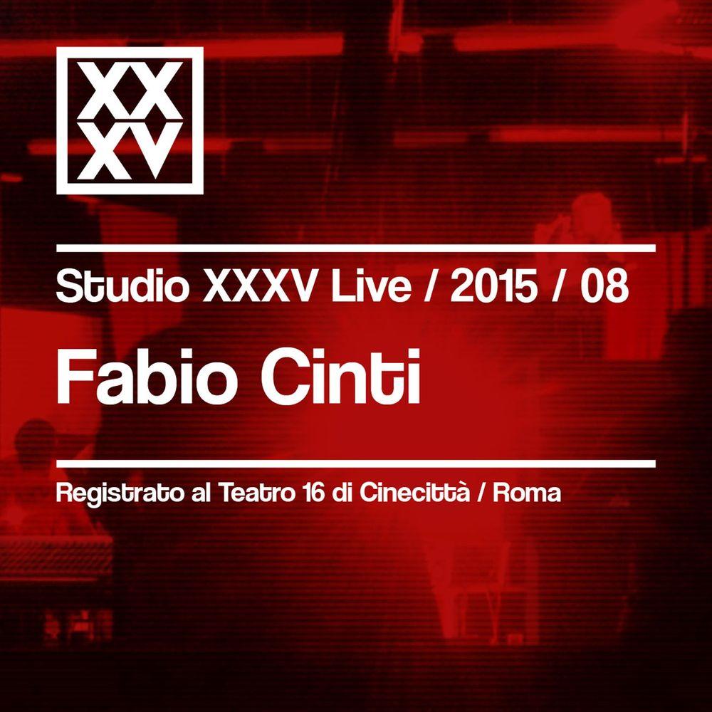 Fabio Cinti - Fabio Cinti  Studio XXXV Live 2015   08 (2016) .Mp3 -320 Kbps