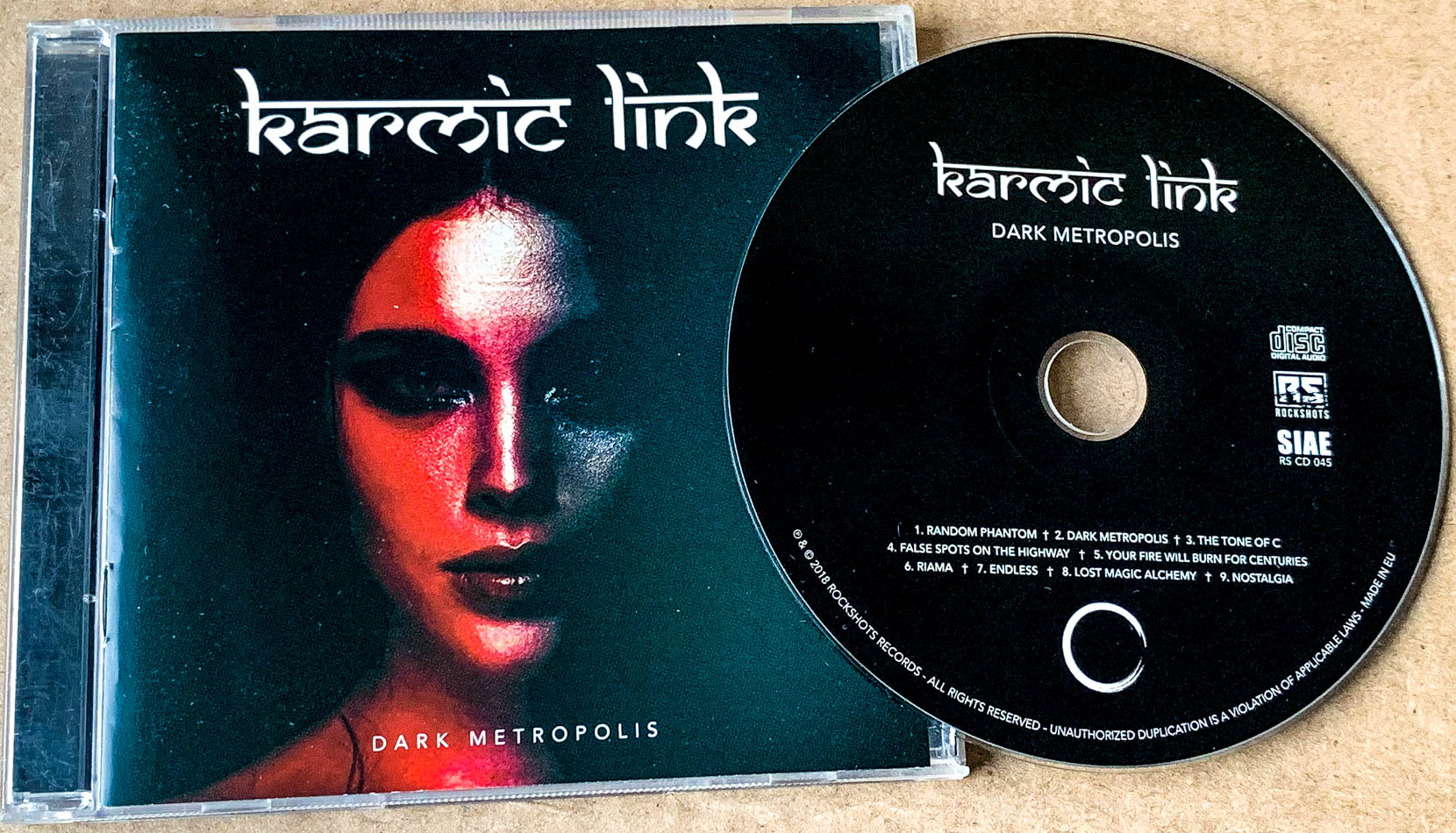 Karmic Link-Dark Metropolis-2018-GRAVEWISH