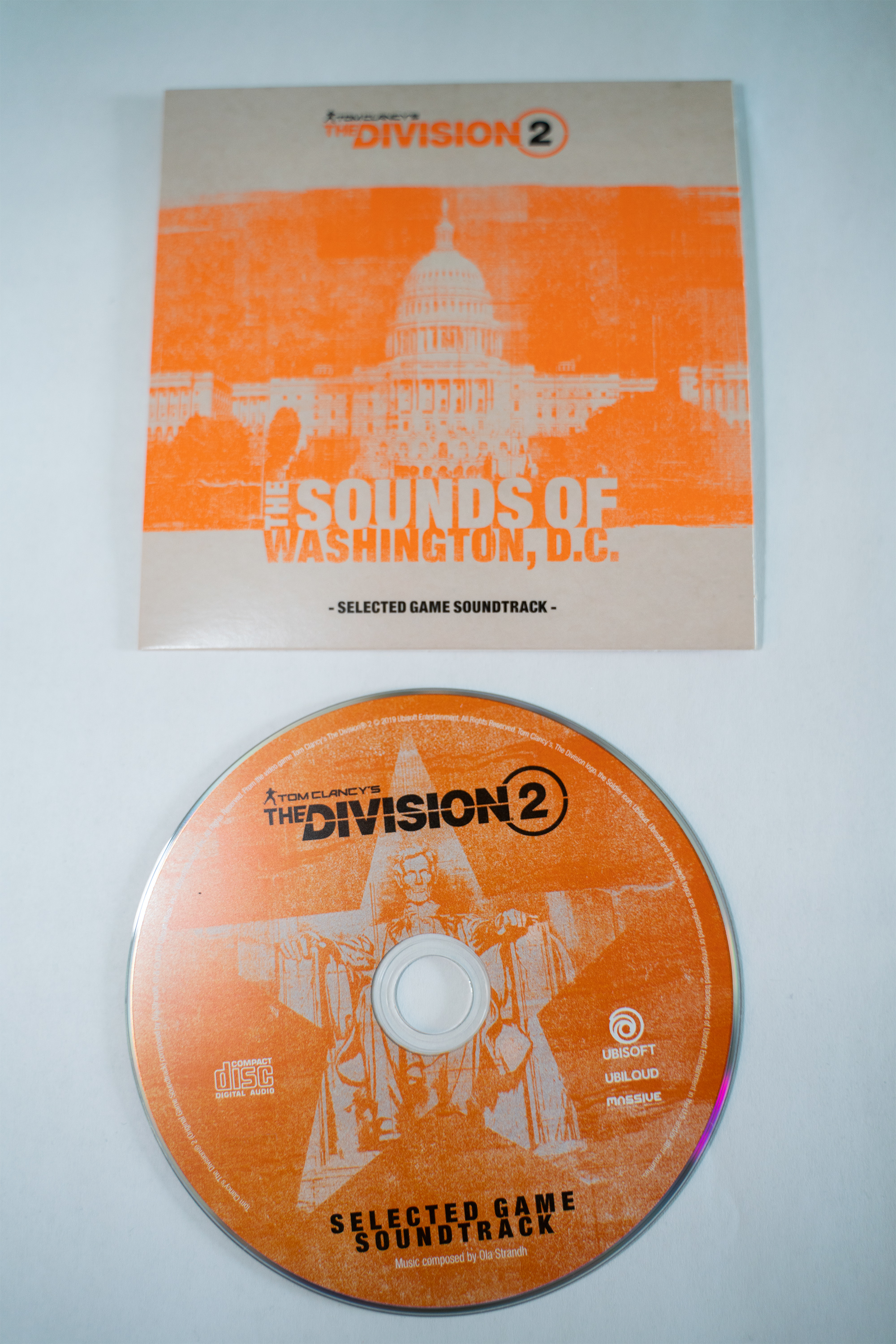 Ola Strandh-Tom Clancys The Division 2-The Sounds Of Washington DC-Selected Game Soundtrack-OST-C...