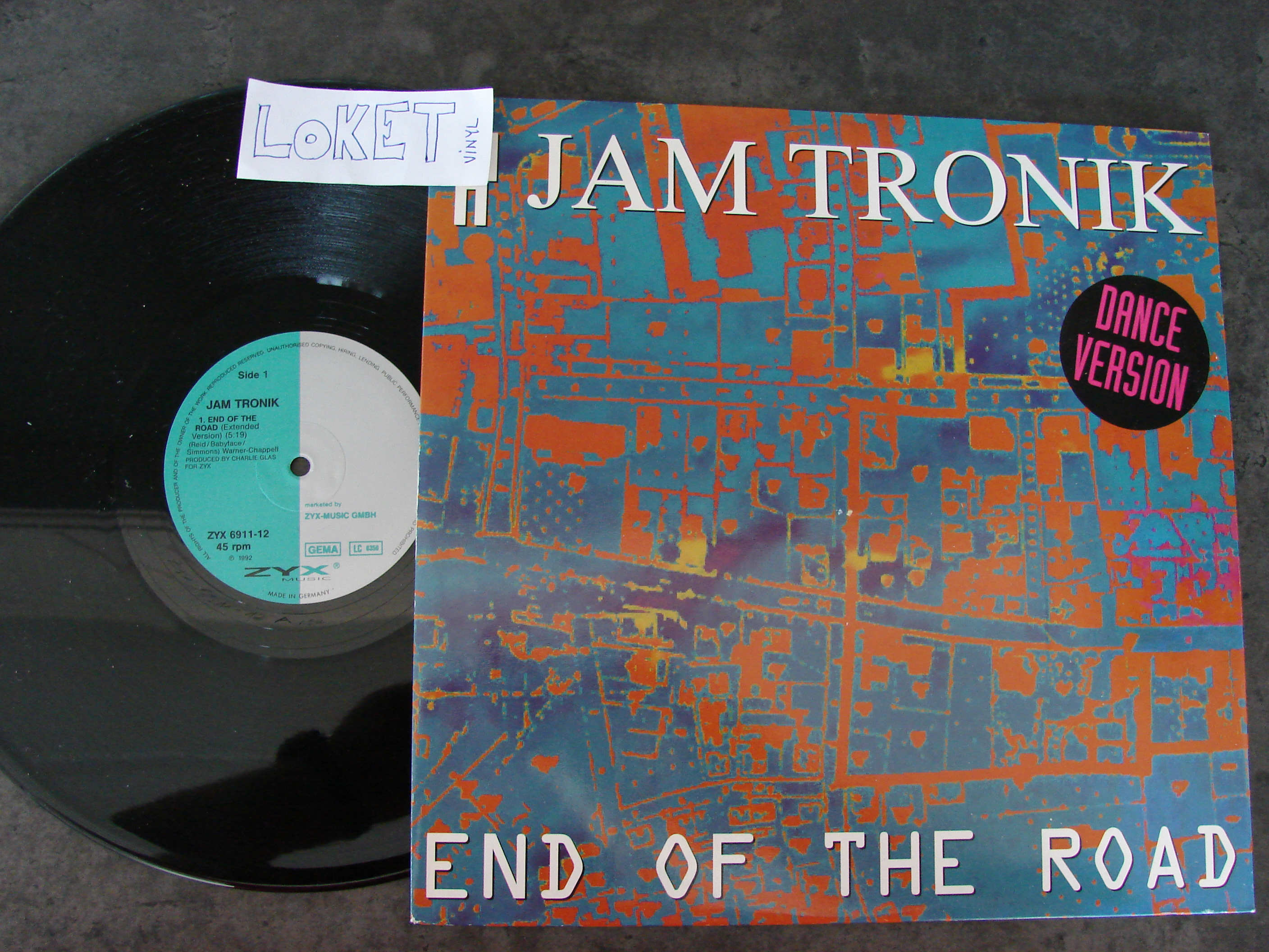 Download Jam Tronic End Of The World 12inch Vinyl Flac