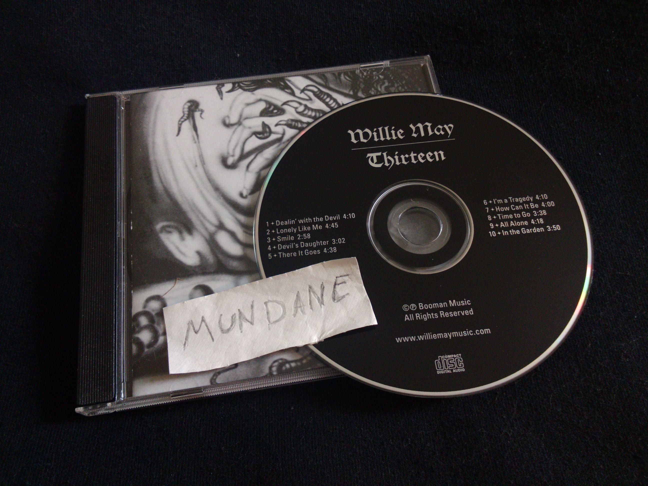 Willie May-Thirteen-CD-FLAC-2012-MUNDANE