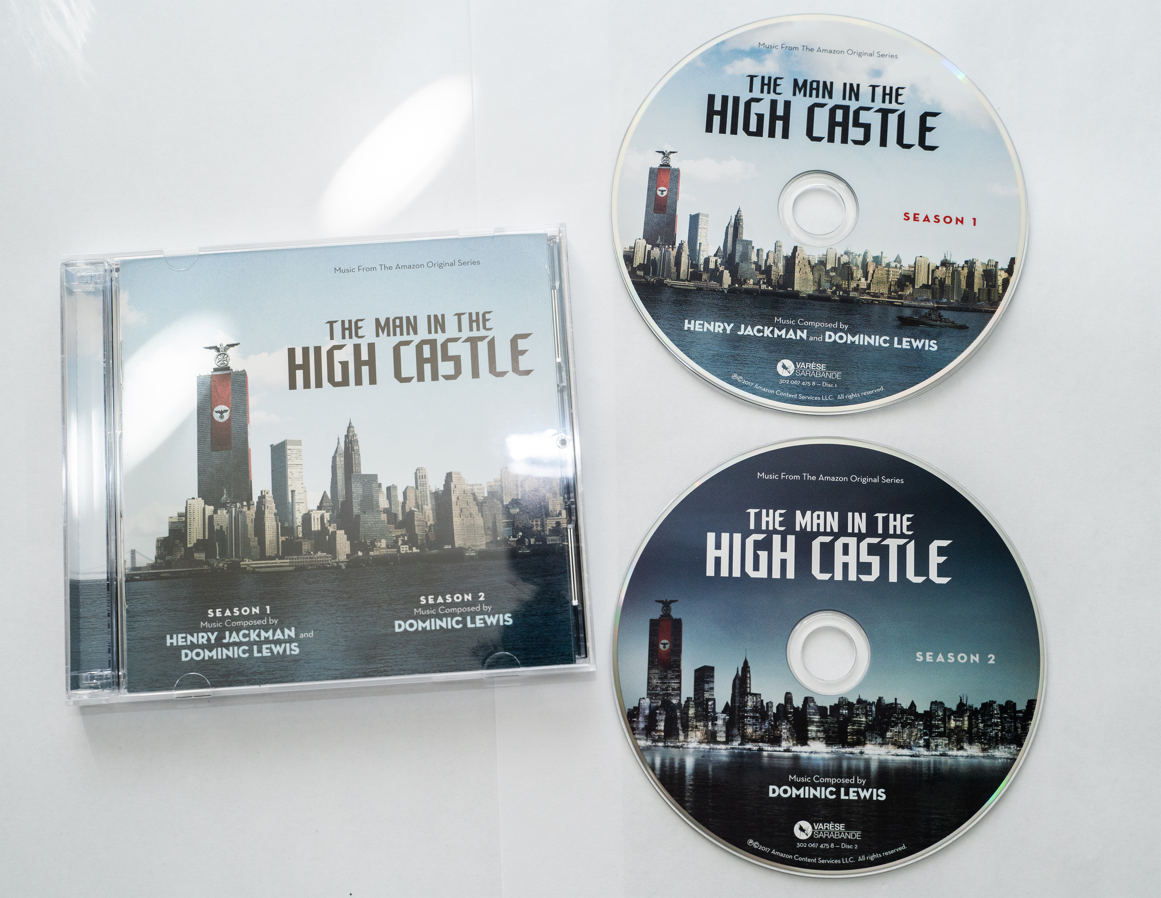 Dominic Lewis and Henry Jackman - The Man in the High Castle - Seasons 1 & 2 (2CD) (2017) .mp3 -234 Kbps