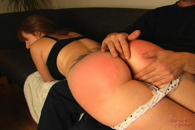 I spank my girlfriend #5