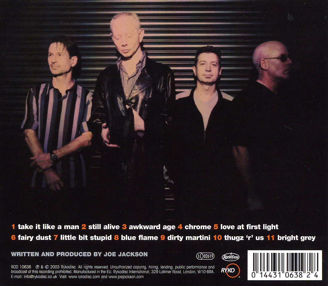 Download Joe Jackson Band - Volume 4 [2CD] (2003)  mp3 -128