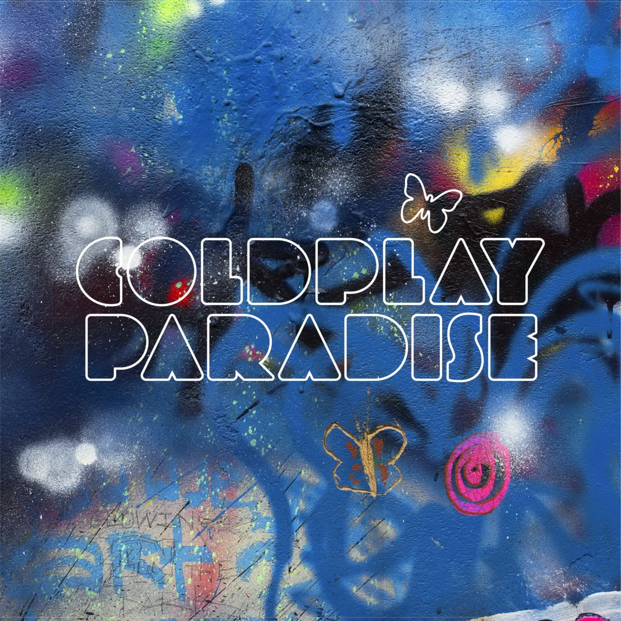 Coldplay - Paradise (CD Single Promo) (2011)  mp3 -320 Kbps